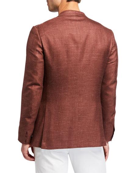 Ermenegildo Zegna Men's Textured Two-Button Jacket