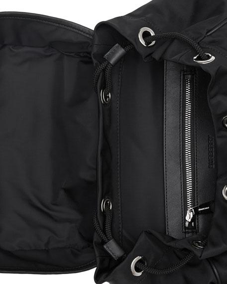 Burberry Men's Rocky Logo Nylon Backpack