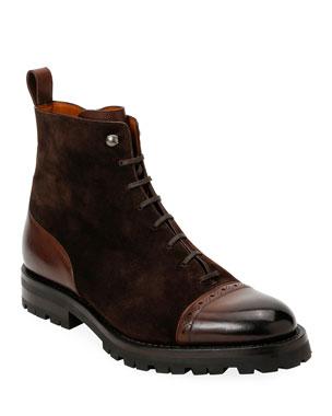 48b8af7e95941 Men's Designer Boots at Neiman Marcus