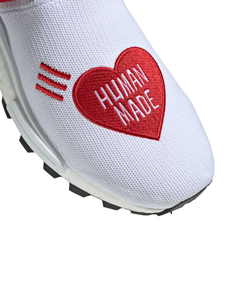 adidas x Pharrell Williams Men's NMD Human Made Primeknit Heart Sneakers