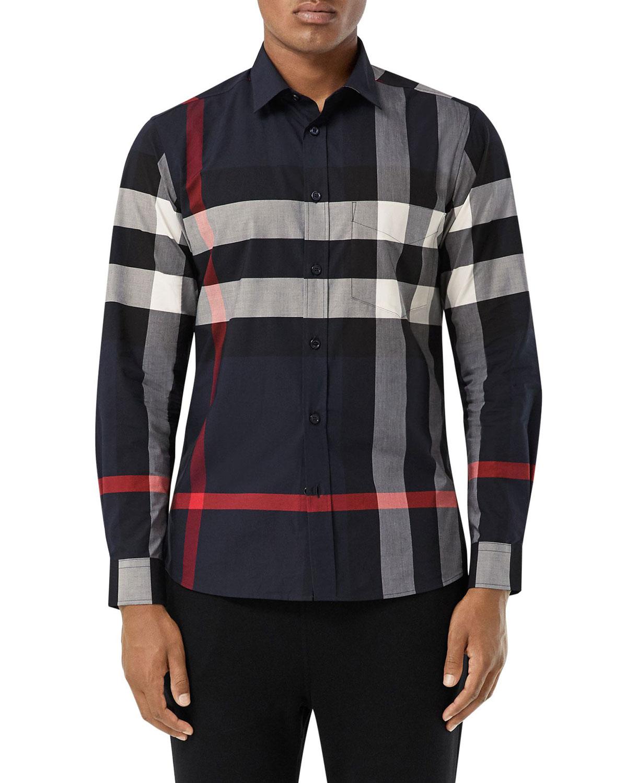 burberry shirt men's