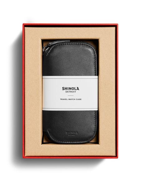 Shinola Men's Travel Watch Case - Gift Boxed