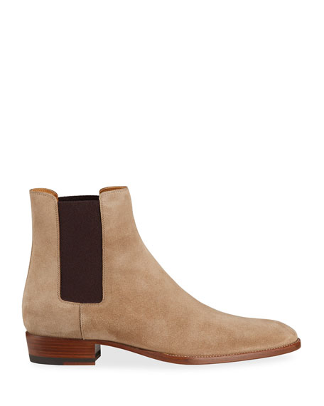 Saint Laurent Eddie Suede Chelsea Boot