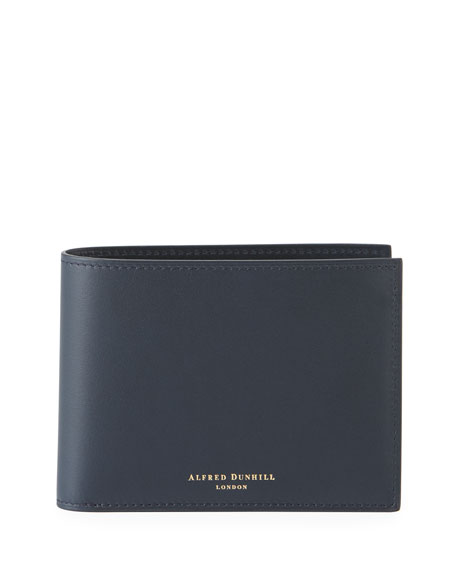 Image 1 of 2: dunhill Men's Duke Leather Billfold Wallet