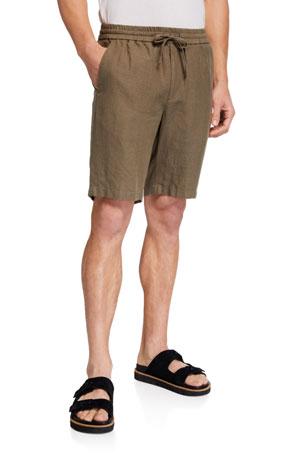 Vince Men's Lightweight Hemp Shorts
