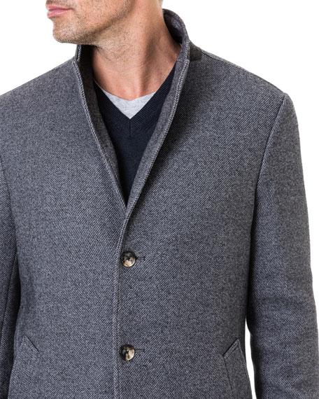 Rodd & Gunn Men's Calton Hill Wool-Cotton Coat