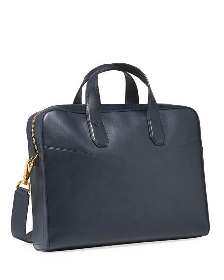 dunhill Men's Duke Single-Document Leather Briefcase