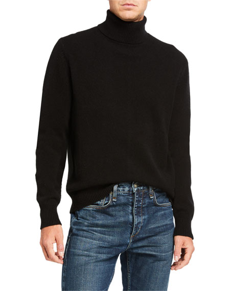 Rag & Bone Men's Haldon Cashmere Turtleneck Sweater