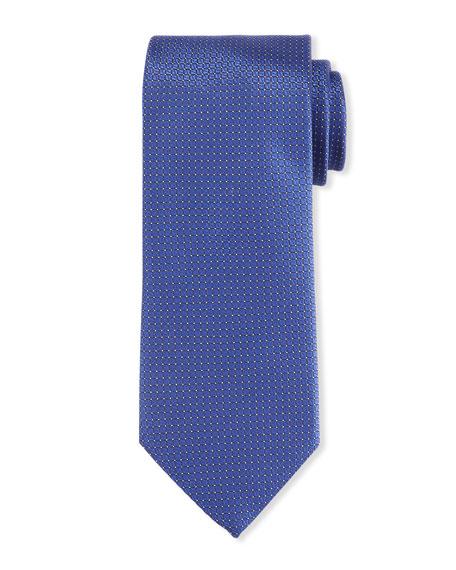 Canali Men's Micro Squares Silk Tie
