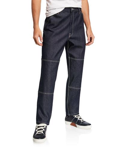 Men's Selvedge Carpenter Jeans
