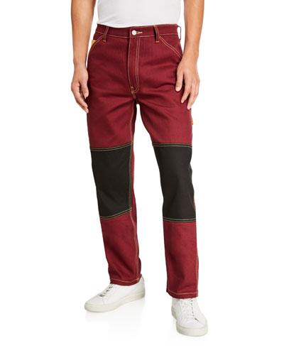 Men's Colorblock Carpenter Jacket
