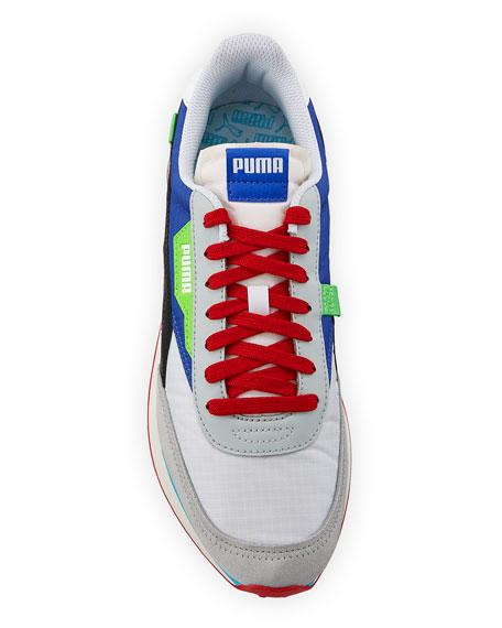 Puma Men's Rider Ride On Colorblock Running Sneakers