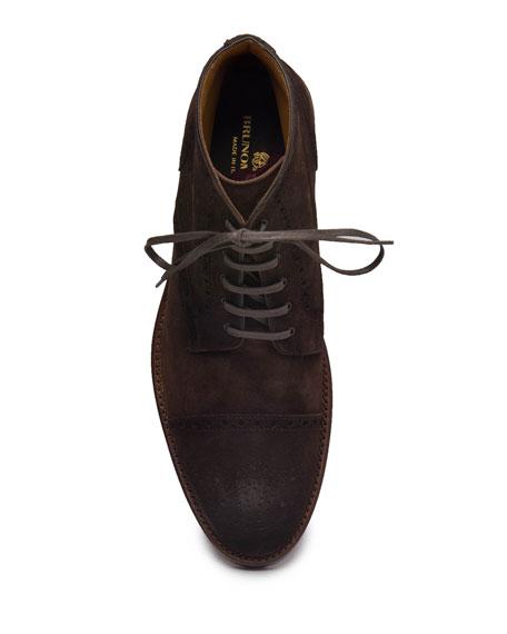 Bruno Magli Men's Octavio Brogue Suede Boots