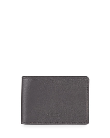 Shinola Wallets Men's Super-Slim Leather Wallet