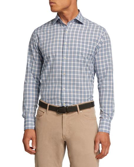 Peter Millar Men's Baldwin Tartan Plaid Sport Shirt