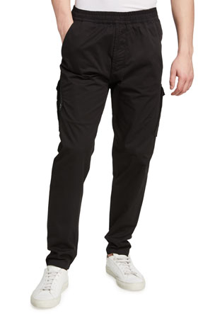 Stone Island Men's Pull-On Tapered Cargo Pants