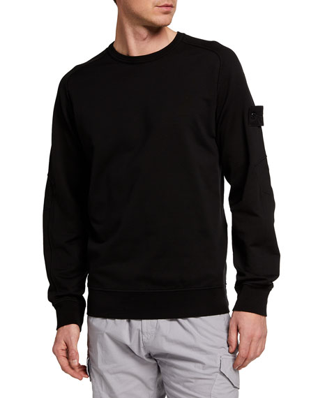 Image 1 of 4: Men's Crewneck Sweatshirt w/ Tonal Logo
