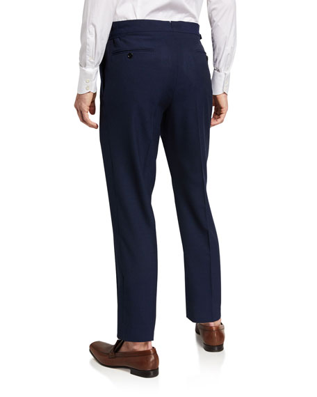 Image 2 of 3: TOM FORD Men's O'Connor Base Wool Trousers