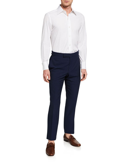 Image 3 of 3: TOM FORD Men's O'Connor Base Wool Trousers