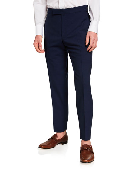 Image 1 of 3: TOM FORD Men's O'Connor Base Wool Trousers