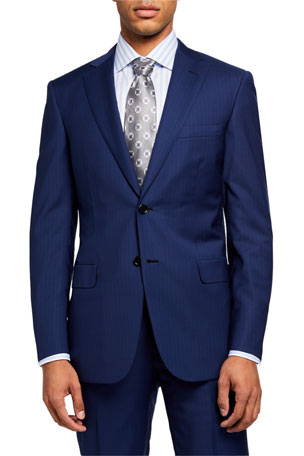 Brioni Men's Pinstriped Two-Piece Suit