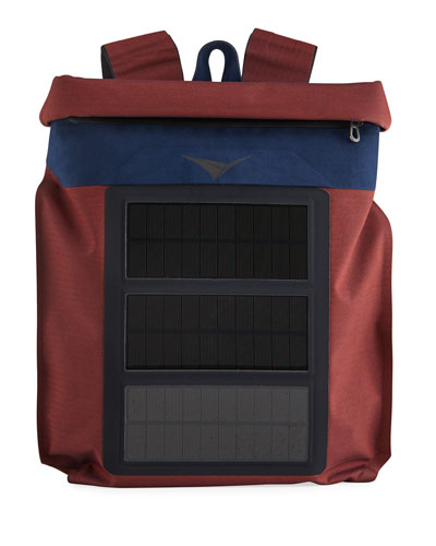 Sease Men's MISSION Backpack with Solar USB Charger