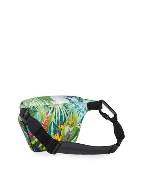 Dolce & Gabbana Men's Marsupio Stampato Neoprene Fanny Pack/Belt Bag