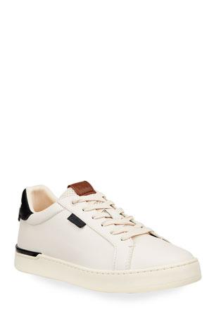 Coach Men's Lowline Lightweight Leather Low-Top Sneakers