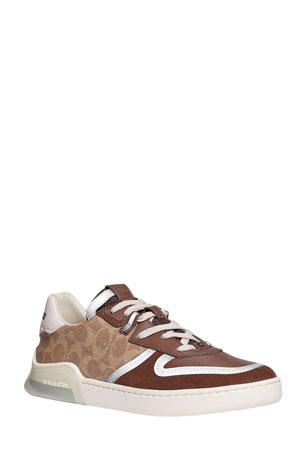 Coach Men's CitySole Signature Lightweight Court Sneakers