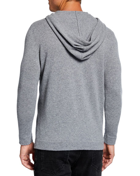 Image 2 of 2: TSE for Neiman Marcus Men's Recycled Cashmere Hoodie Sweater