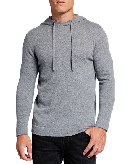Image 1 of 2: TSE for Neiman Marcus Men's Recycled Cashmere Hoodie Sweater