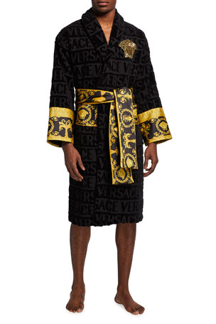 Versace Men's Medusa Logomania Robe