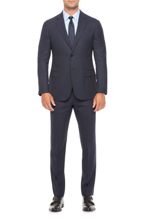 Emporio Armani Men's Small Box Wool Two-Piece Suit