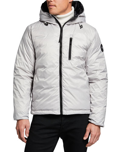 Canada Goose Men's Lodge Black Label Puffer Jacket
