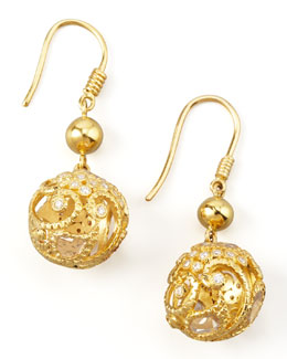 COOMI Vitality Sphere Earrings