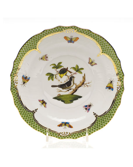Rothschild Bird Green Border Salad Plate #4