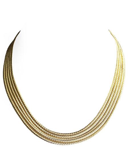 Cairo Five-Strand Necklace