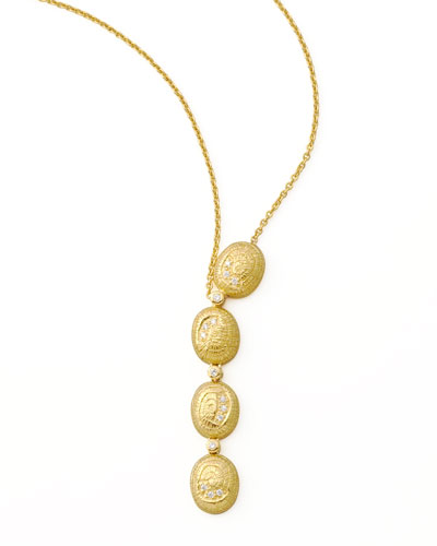 COOMI Eternity Oval Necklace