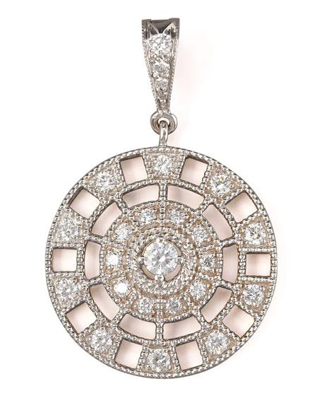 Pave Diamond Pinwheel Enhancer