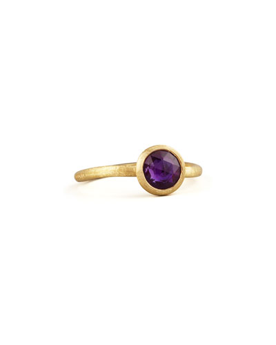 Small Jaipur Ring, Amethyst