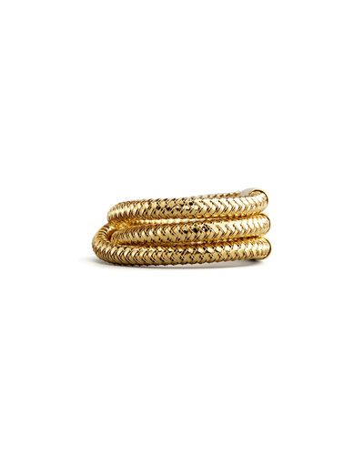 Roberto Coin Primavera Three-Row Ring