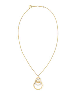 Marco Bicego Jaipur Diamond Link Pendant Necklace
