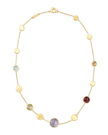 "Jaipur Mixed-Stone Necklace, 16""L"