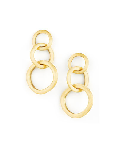 Marco Bicego Jaipur Link Gold Large Drop Earrings
