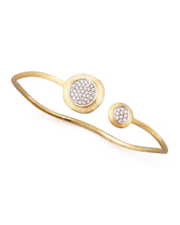 Marco Bicego Jaipur Diamond Link Gold Bangle