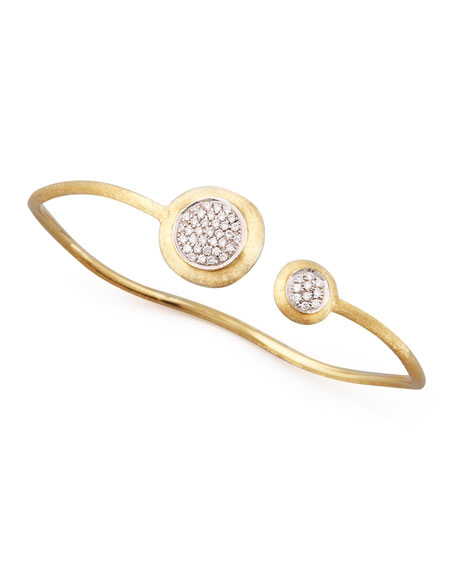 Jaipur Diamond Link Gold Bangle