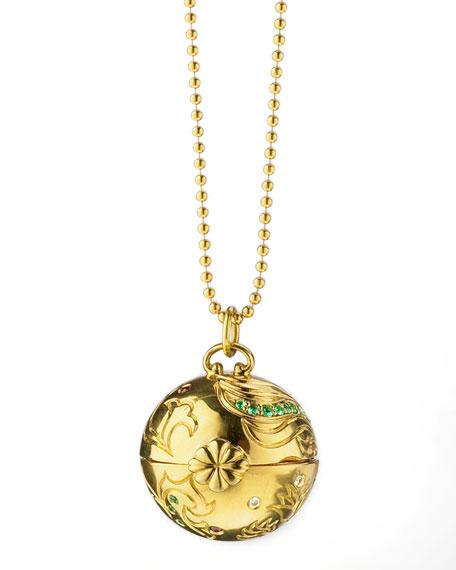 Venus Inner Beauty 18k Gold Charm Necklace