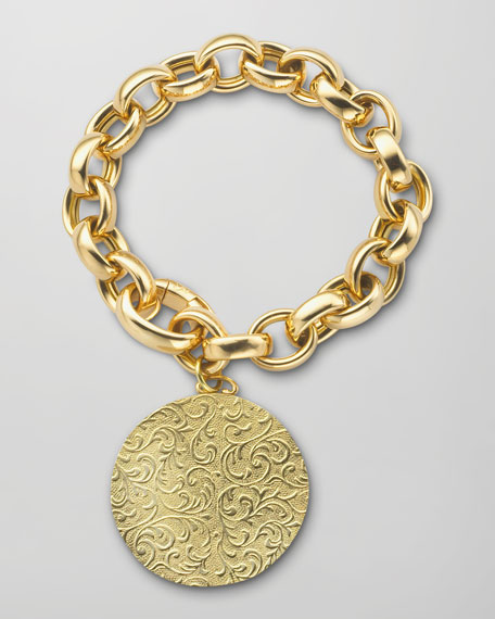 Rosalind 18k Gold Photo-Charm Bracelet