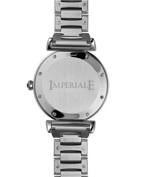 Chopard Imperiale 40mm Diamond Bezel Bracelet Watch