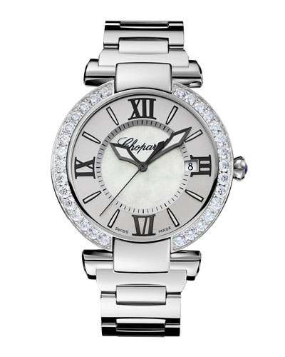 Imperiale 40mm Diamond Bezel Bracelet Watch
